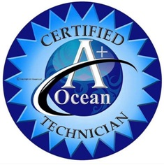 Certified A+ Ocean Technician, Beauty Therapist